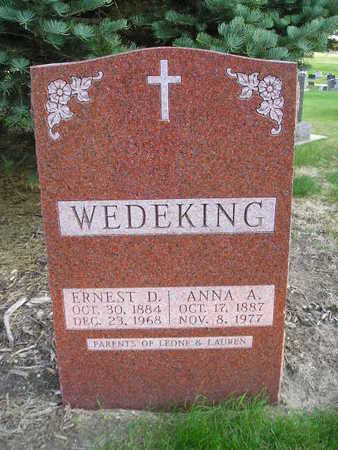 WEDEKING, ERNEST D - Bremer County, Iowa | ERNEST D WEDEKING