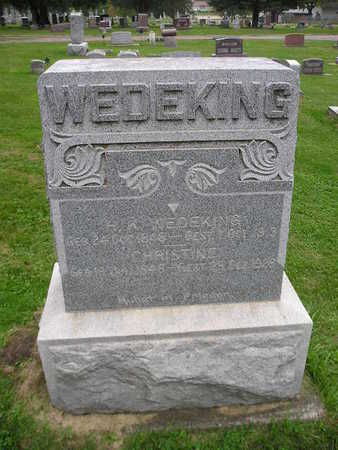 WEDEKING, CHRISTINE - Bremer County, Iowa | CHRISTINE WEDEKING