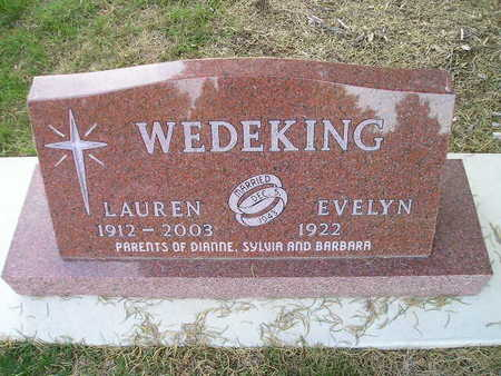 WEDEKING, EVELYN - Bremer County, Iowa | EVELYN WEDEKING