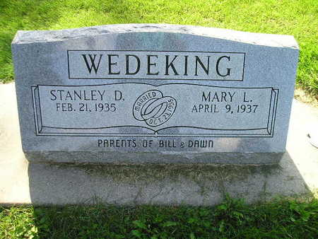 WEDEKING, MARY L - Bremer County, Iowa | MARY L WEDEKING