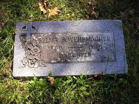 WEHRMACHER, SELMA B - Bremer County, Iowa | SELMA B WEHRMACHER