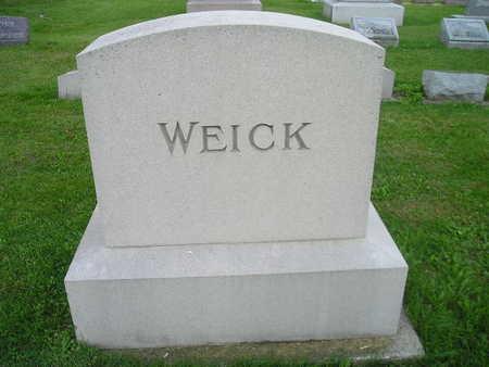 WEICK, FAMILY - Bremer County, Iowa | FAMILY WEICK