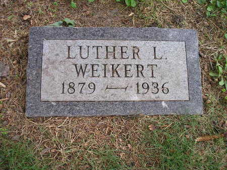 WEIKERT, LUTHER L - Bremer County, Iowa | LUTHER L WEIKERT