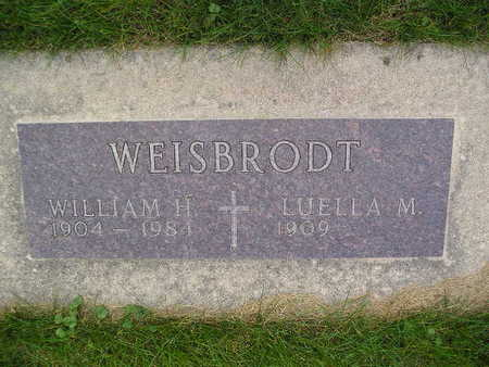 WEISBRODT, WILLIAM H - Bremer County, Iowa | WILLIAM H WEISBRODT