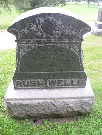 WELLS, FAMILY HEADSTONE - Bremer County, Iowa | FAMILY HEADSTONE WELLS