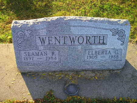 WENTWORTH, ELBERTA G - Bremer County, Iowa | ELBERTA G WENTWORTH