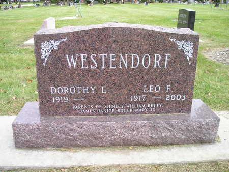WESTENDORF, DOROTHY L - Bremer County, Iowa | DOROTHY L WESTENDORF