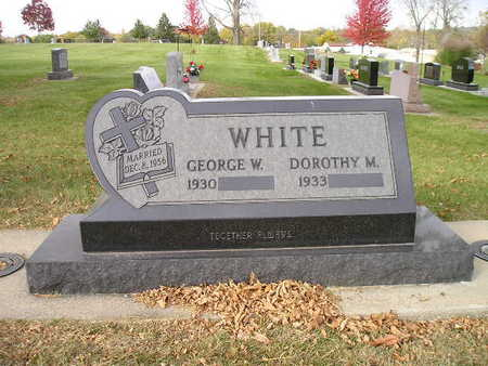 WHITE, GEORGE W - Bremer County, Iowa | GEORGE W WHITE