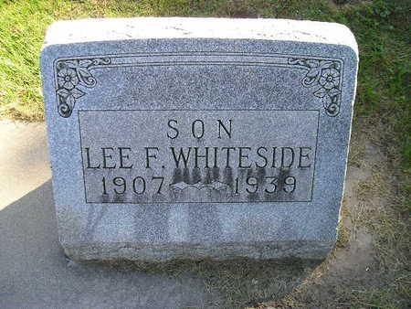 WHITESIDE, LEE F - Bremer County, Iowa | LEE F WHITESIDE