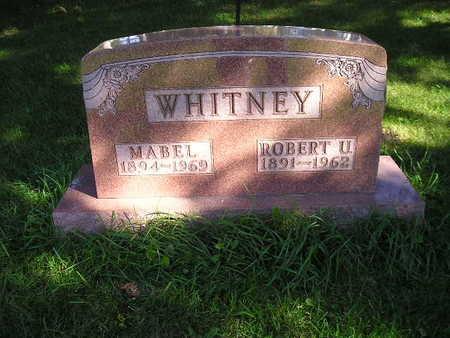 WHITNEY, ROBERT U - Bremer County, Iowa | ROBERT U WHITNEY