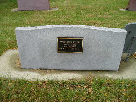 WIDDEL, REUBEN JOHN - Bremer County, Iowa | REUBEN JOHN WIDDEL