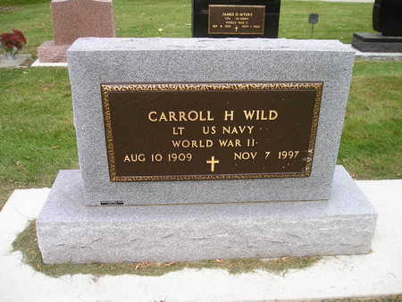 WILD, CARROLL H - Bremer County, Iowa | CARROLL H WILD
