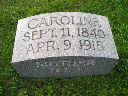 WILDHAGEN, CAROLINE - Bremer County, Iowa | CAROLINE WILDHAGEN