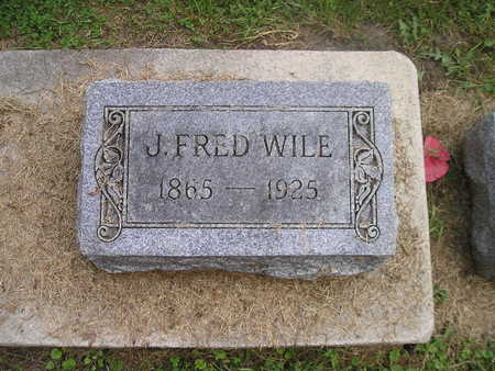 WILE, J FRED - Bremer County, Iowa | J FRED WILE