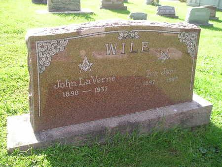 WILE, JOHN LAVERNE - Bremer County, Iowa | JOHN LAVERNE WILE