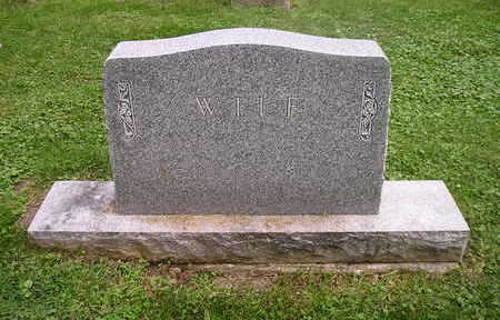 WILE, FAMILY HEADSTONE - Bremer County, Iowa | FAMILY HEADSTONE WILE