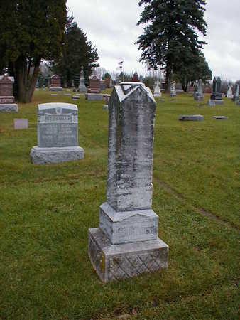 PLATTE WILKENING, FRIEDERIKE - Bremer County, Iowa | FRIEDERIKE PLATTE WILKENING