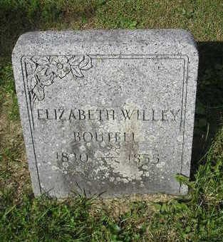 WILLEY, ELIZABETH - Bremer County, Iowa | ELIZABETH WILLEY