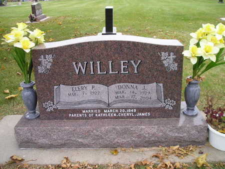 WILLEY, DONNA J - Bremer County, Iowa | DONNA J WILLEY
