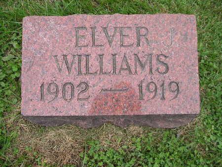 WILLIAMS, ELVER J - Bremer County, Iowa | ELVER J WILLIAMS