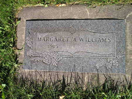 WILLIAMS, MARGARET M - Bremer County, Iowa | MARGARET M WILLIAMS