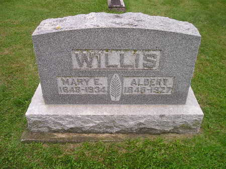 WILLIS, MARY E - Bremer County, Iowa | MARY E WILLIS