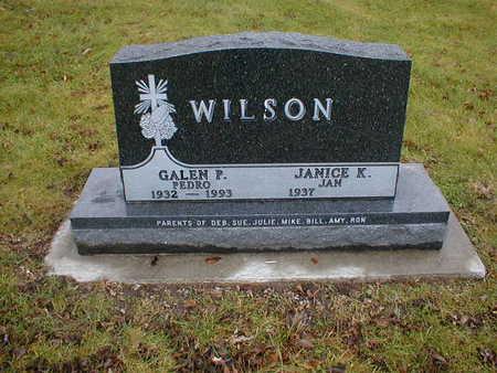 WILSON, GALEN P