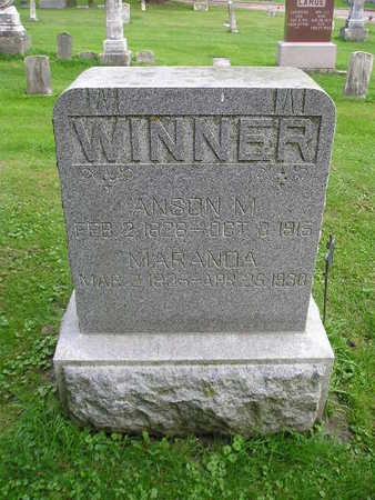 WINNER, ANSON M - Bremer County, Iowa | ANSON M WINNER