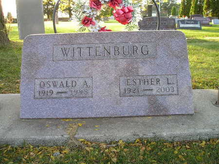 WITTENBURG, ESTHER L - Bremer County, Iowa | ESTHER L WITTENBURG