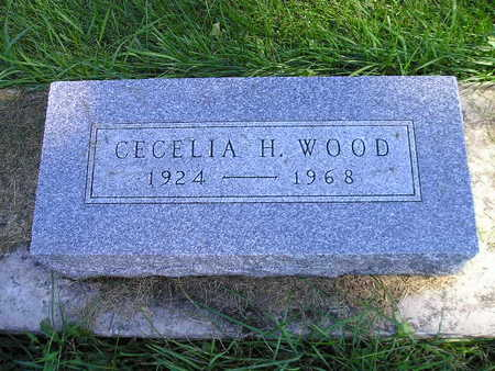WOOD, CECELIA H - Bremer County, Iowa | CECELIA H WOOD