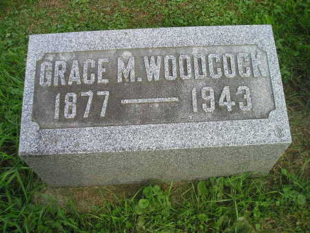 WOODCOCK, GRACE M - Bremer County, Iowa | GRACE M WOODCOCK