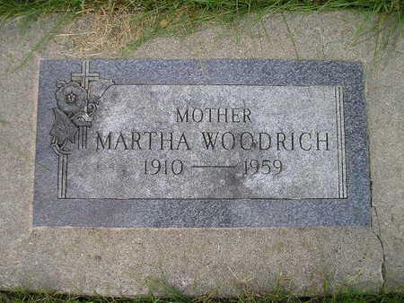 WOODRICH, MARTHA - Bremer County, Iowa | MARTHA WOODRICH
