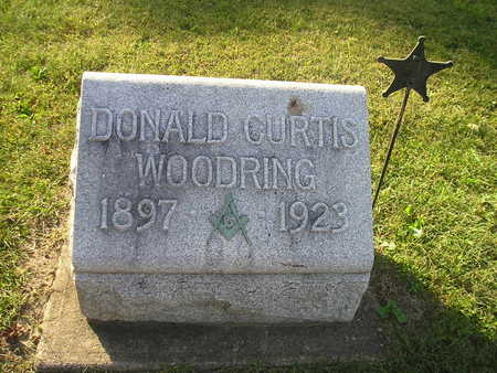 WOODRING, DONALD CURTIS - Bremer County, Iowa | DONALD CURTIS WOODRING