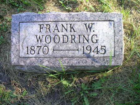 WOODRING, FRANK W - Bremer County, Iowa | FRANK W WOODRING