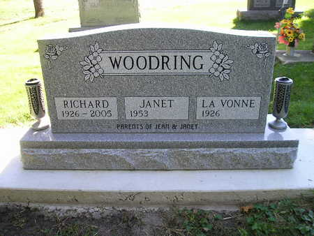 WOODRING, JANET - Bremer County, Iowa | JANET WOODRING