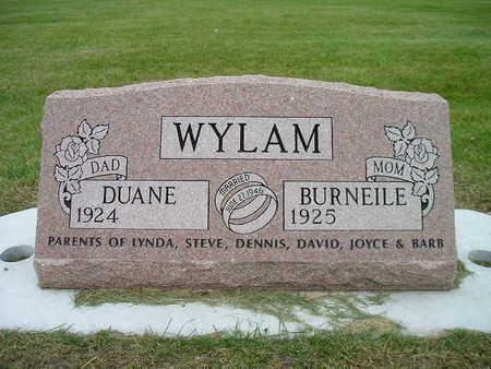 WYLAM, BURNEILE - Bremer County, Iowa | BURNEILE WYLAM