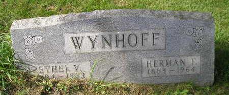 WYNHOFF, HERMAN F - Bremer County, Iowa | HERMAN F WYNHOFF