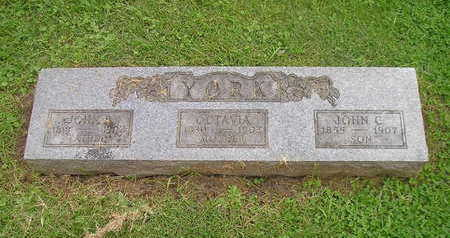 YORK, JOHN C. - Bremer County, Iowa | JOHN C. YORK