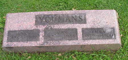 YOUMANS, MINNIE - Bremer County, Iowa | MINNIE YOUMANS