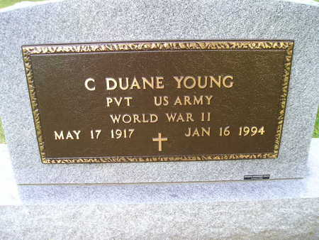 YOUNG, C DUANE - Bremer County, Iowa | C DUANE YOUNG