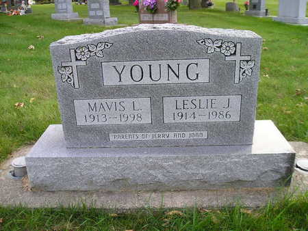 YOUNG, MAVIS L - Bremer County, Iowa | MAVIS L YOUNG
