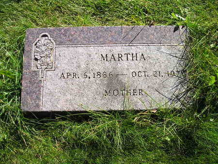ZAHN, MARTHA - Bremer County, Iowa | MARTHA ZAHN