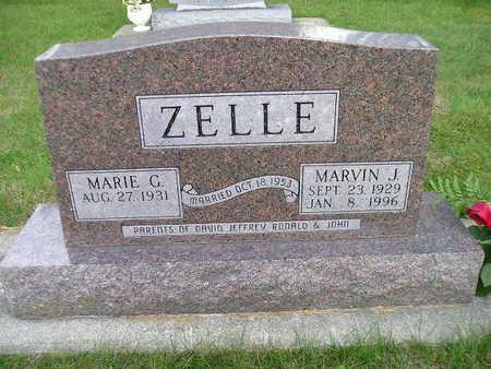 ZELLE, MARIE G - Bremer County, Iowa | MARIE G ZELLE
