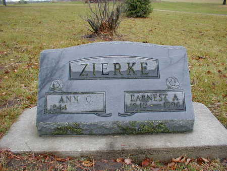 ZIERKE, EARNEST A - Bremer County, Iowa | EARNEST A ZIERKE