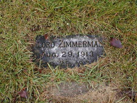 ZIMMERMAN, GAYLORD - Bremer County, Iowa | GAYLORD ZIMMERMAN