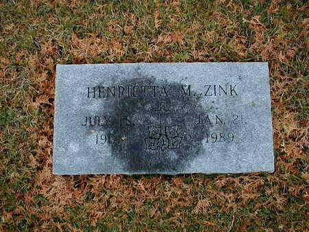 ZINK, HENRIETTA M - Bremer County, Iowa | HENRIETTA M ZINK