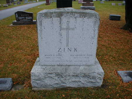 ZINK, GEORGE - Bremer County, Iowa | GEORGE ZINK