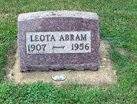 ABRAM, LEOTA - Buchanan County, Iowa | LEOTA ABRAM