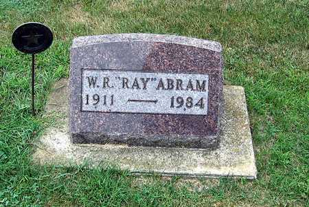ABRAM, WILLIAM RAYMOND