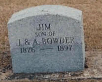 BOWDER, JAMES (JIM) - Buchanan County, Iowa | JAMES (JIM) BOWDER
